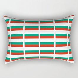 flag of bulgaria -bulgarian, България,български,slav,cyrillic,Sofia,bulgaria Rectangular Pillow
