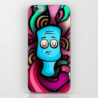 foo fighters iPhone & iPod Skins featuring Foo by Shana-Lee