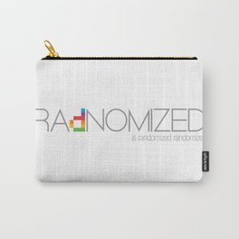 RAdNOMIZED Logo Carry-All Pouch