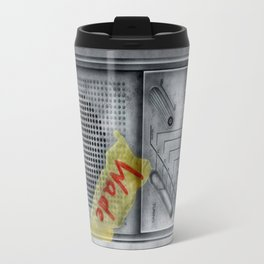 Classic retro Wade Wilson Walkman Travel Mug