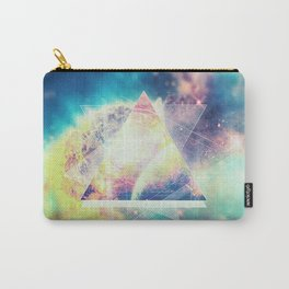 Awsome collosal deep space triangle art sign Carry-All Pouch