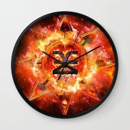 Chaos Icon - Khorne Wall Clock