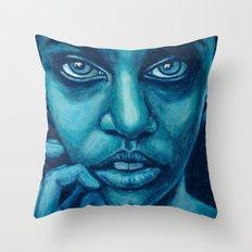 don't panic! Throw Pillow