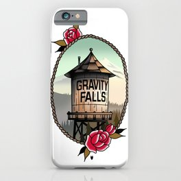 Gravity Falls Tattoos iPhone Case