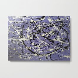 Purple Carnage Metal Print