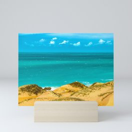 Dunes and Ocean Jericoacoara Brazil Mini Art Print