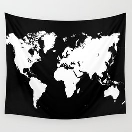 Design 69 world map Wall Tapestry