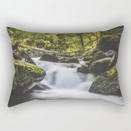 Mossy Waters Rectangular Pillow
