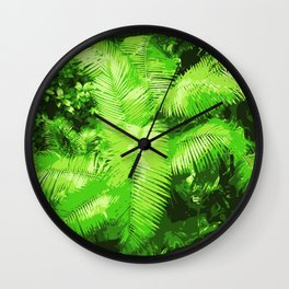 Into the Djungle Wall Clock