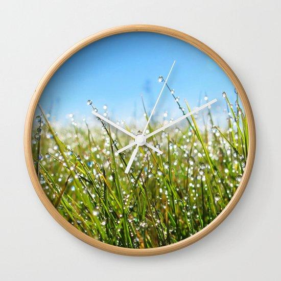 Melting Moments Wall Clock