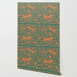 Finnish forest - Autumn colors Wallpaper