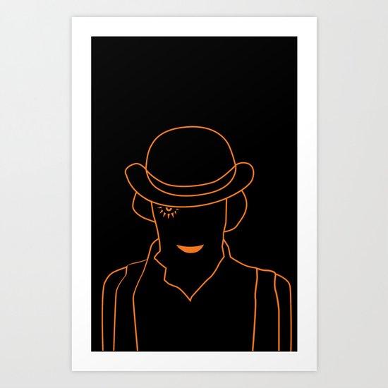 Mr. DeLarge Art Print