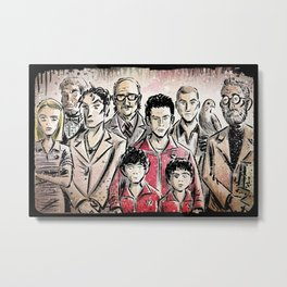 The Royal Tenenbaums Metal Print