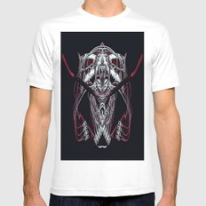REPLIQUANT White MEDIUM Mens Fitted Tee