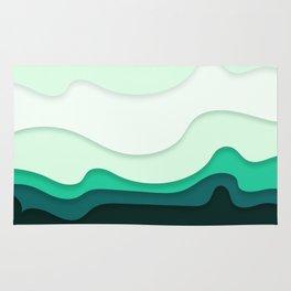 Pastel Waves Rug