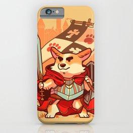 Corgi knight iPhone Case
