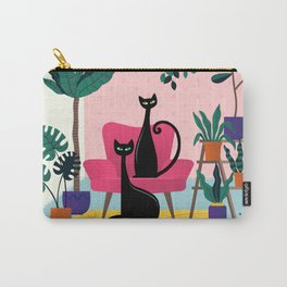 Sleek Black Cats Rule In This Urban Jungle Carry-All Pouch