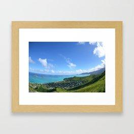 Lanikai Framed Art Print