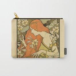 Art Deco Paris Carry-All Pouch