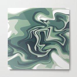 Murky Waters Metal Print