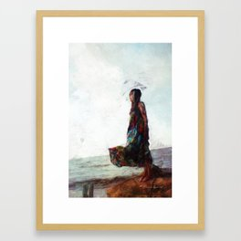 Meet Me at the End of the Bridge 2 Framed Art Print