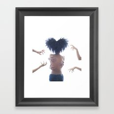 Goddess Love Dance Framed Art Print