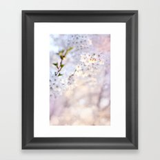 Water-colour Spring #1 Framed Art Print