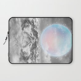 Places Neither Here Nor There (Guardian Moon) Laptop Sleeve