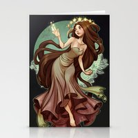 loish Stationery Cards featuring Flow by loish