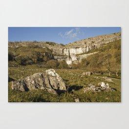 Yorkshire Dales, Malham Cove Canvas Print