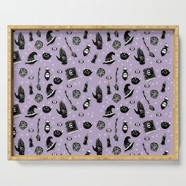 Witchy Magic on Purple Serving Tray