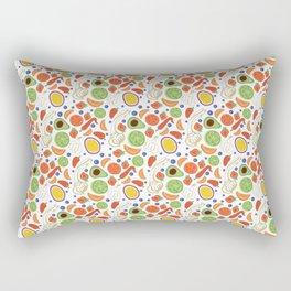 Fun Fruit and Veges Rectangular Pillow