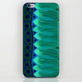 Blue Lotus Petals iPhone Skin