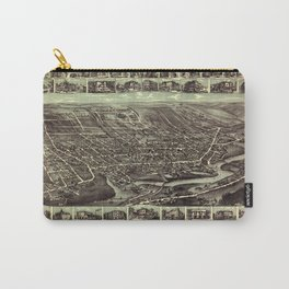 Map Of Hackensack 1896 Carry-All Pouch