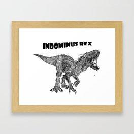 Indominus Rex Framed Art Print
