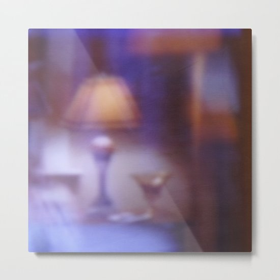 OUT-OF-FOCUS | Room with a view Metal Print