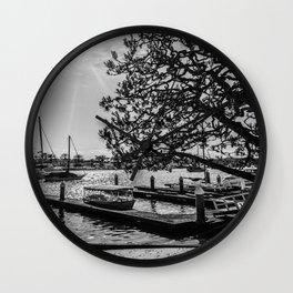 Simply Lido Isle Wall Clock