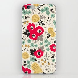Blumen iPhone Skin