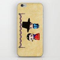korean iPhone & iPod Skins featuring Korean Chibis by artwaste