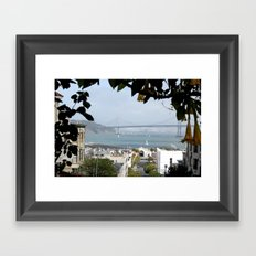 Window to the World Framed Art Print