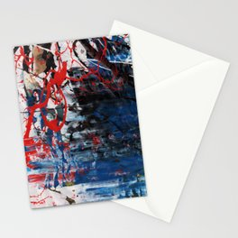 Red Blue 003 Stationery Cards