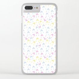 pastel hats Clear iPhone Case