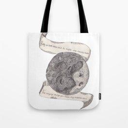 The Secret Moon  Tote Bag