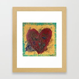 Messy Magnificence Framed Art Print