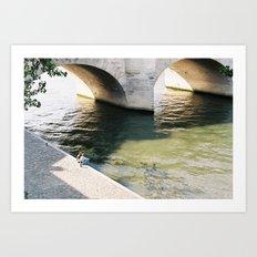 La Seine, Paris Art Print