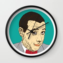 Peewee Herman Wall Clock