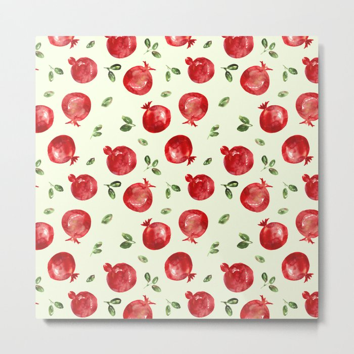 Pomegranate vibes Metal Print