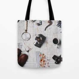 My Travels (Color) Tote Bag