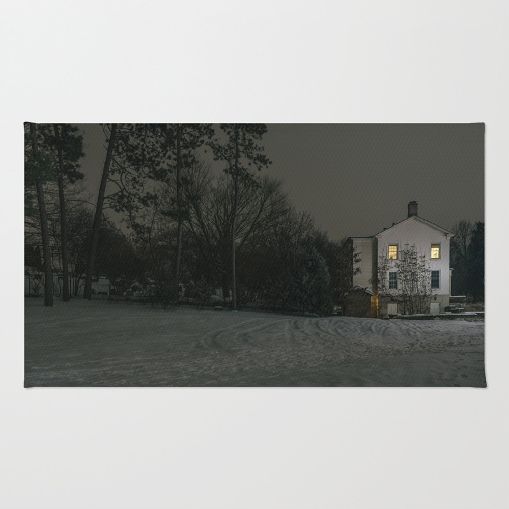 The House By The Cemetery Rug by Peterbaker RUG967316