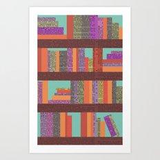Books II Art Print